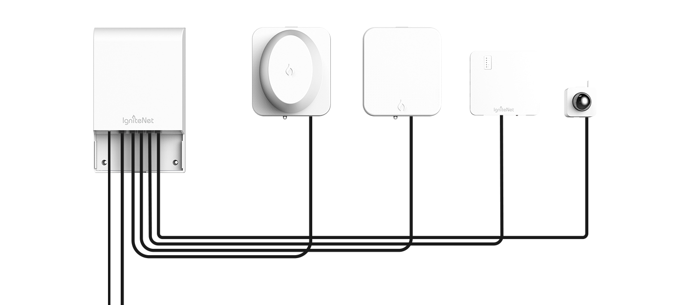 Power up multiple devices image